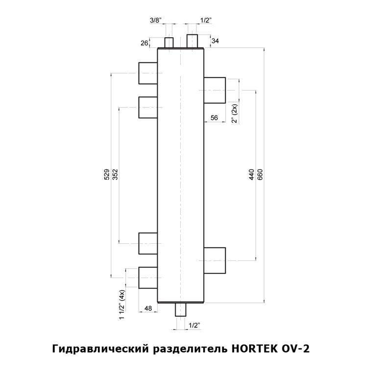 Гидравлический разделитель OV-2