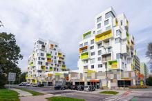 Многоквартирный дом Братислава, Словакия
