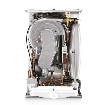 Устройство газового двухконтурного конденсационного котла HORTEK HR-2K 28