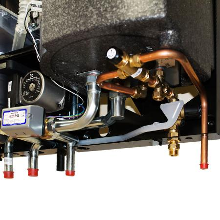 Подключение котла HORTEK Q25C со встроенным бойлером