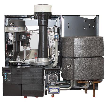 Устройство комбинированного котла HORTEK Q25C